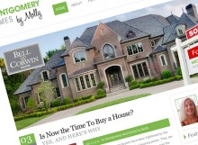 Montgomery Homes by Molly - Website