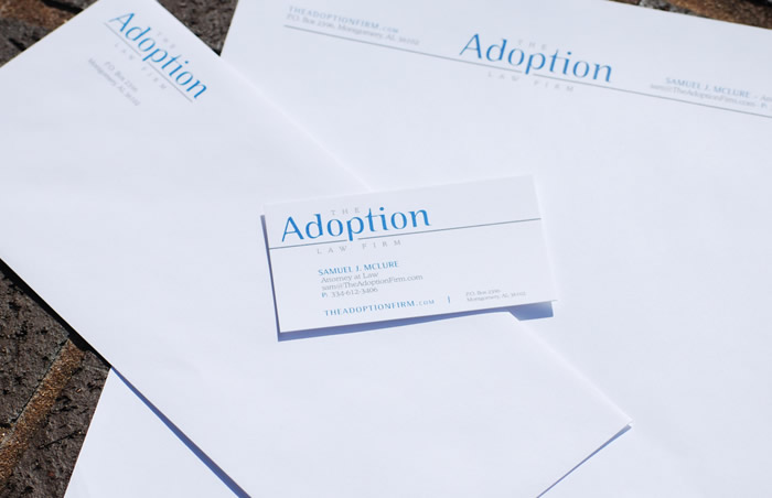 The adoption law firm stationary sharpfish for Fish law firm