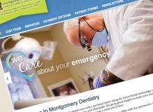 montgomerydentistry-website-design