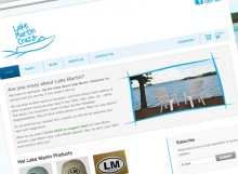 lakemartincrazy-website-design